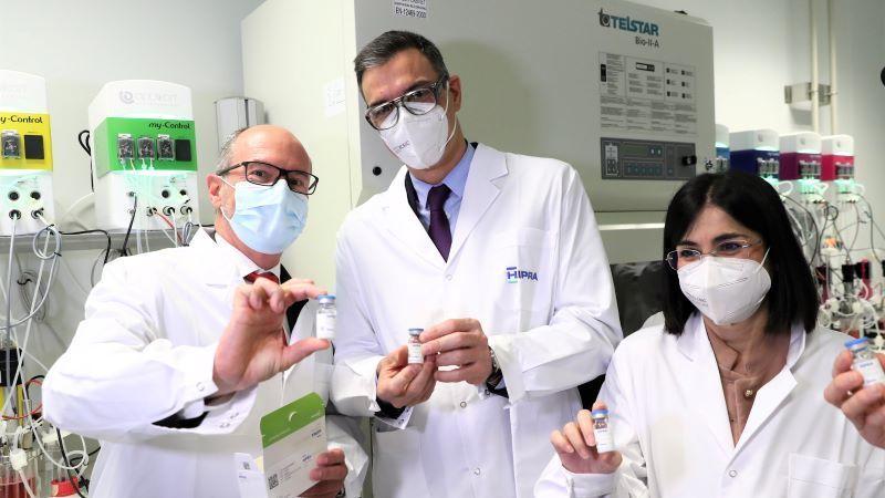 Sánchez insiste en que en 2021 se garantizará el acceso a la vacuna a todos los españoles