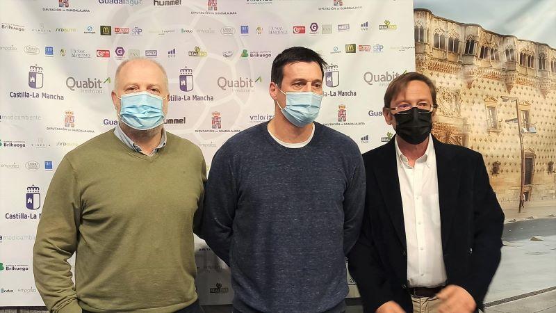 Ortega se despide del Guadalajara, convencido de que logrará la permanencia