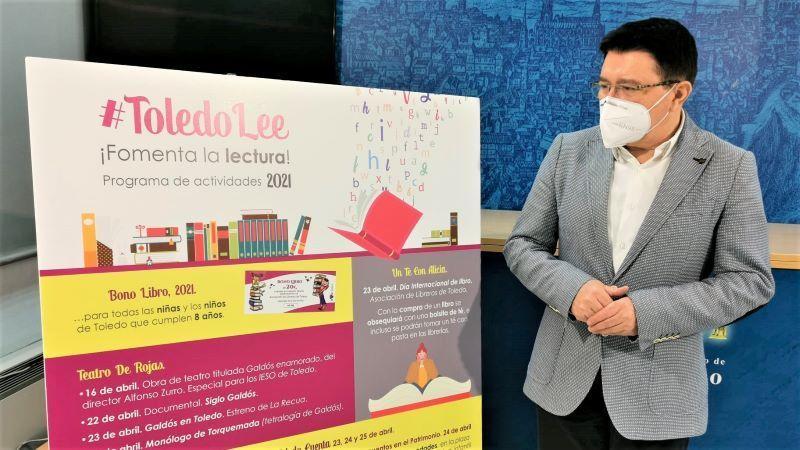 Toledo ofrecerá Rutas Comuneras y cuentacuentos por el Día del Libro