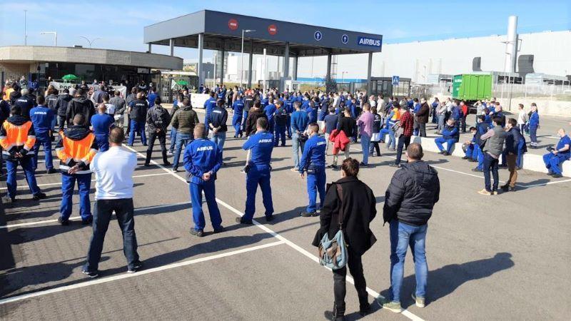 Los trabajadores piden a Gobierno y Airbus cumplir sus compromisos de inversiones