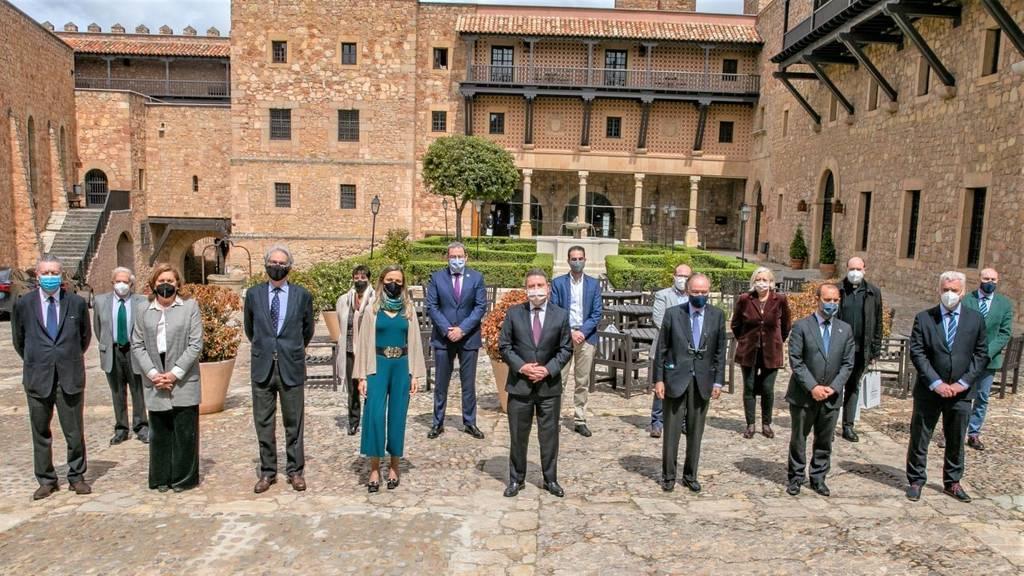 La candidatura de Sigüenza incorpora a Atienza y las salinas, y suma a nuevos miembros