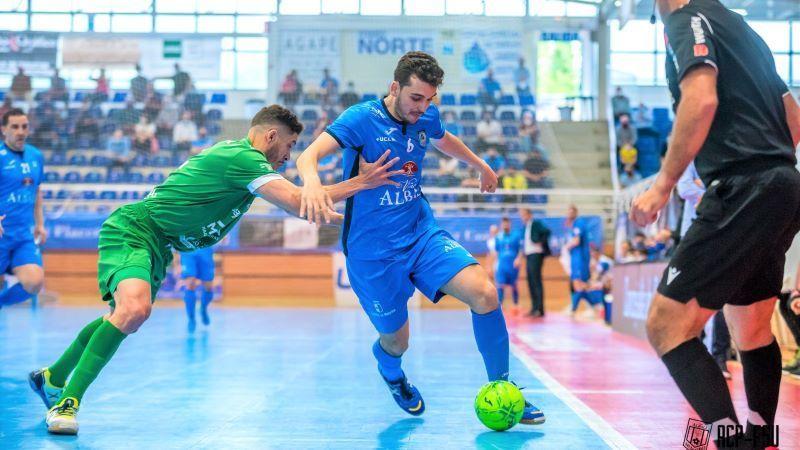 El Viña Albali Valdepeñas continúa con su mala racha ante el Osasuna (1-2)