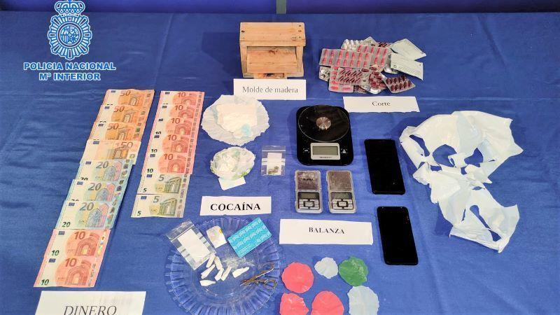 Desarticulado un grupo criminal dedicado al tráfico de cocaína en Talavera