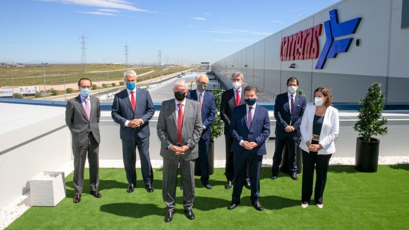 Inauguran en la localidad toledana de Illescas un nuevo centro logístico de 85.000 m2