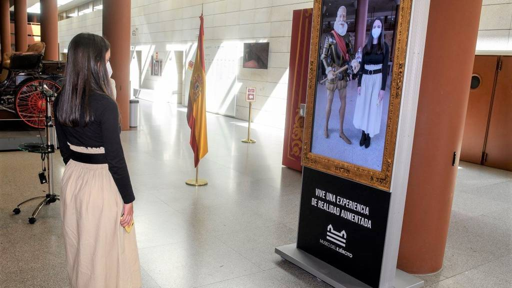 El Museo del Ejército usa la realidad aumentada para recibir a sus visitantes