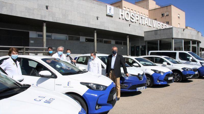 Renovada toda la flota de vehículos de la Gerencia del Área Integrada de Cuenca