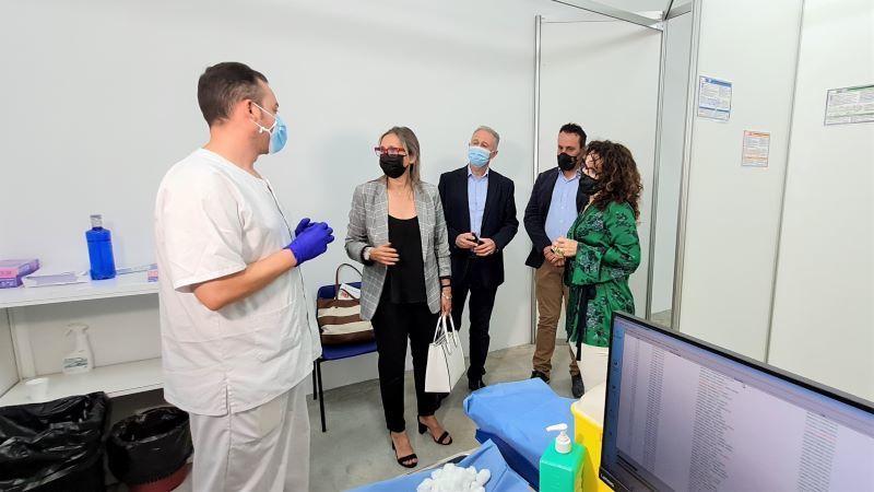 Trasladan la vacunación y pruebas PCR y antígenos al pabellón 2 de 'Talavera Ferial'