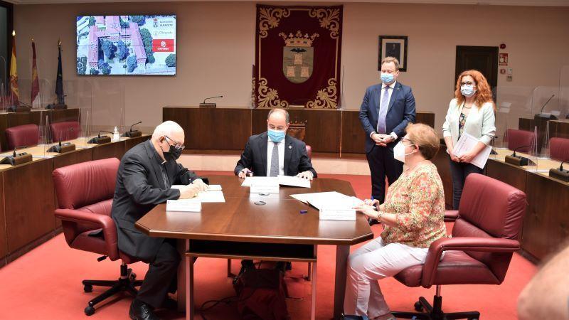El Obispado de Albacete cederá dos plantas del Seminario para alojamiento de temporeros