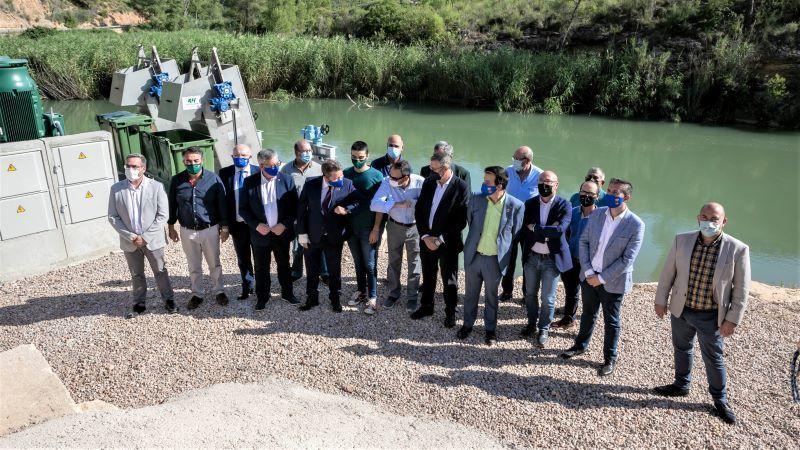 Junta hace realidad los 7,5 hm3 de agua para regadíos sociales de la cuenca del Segura