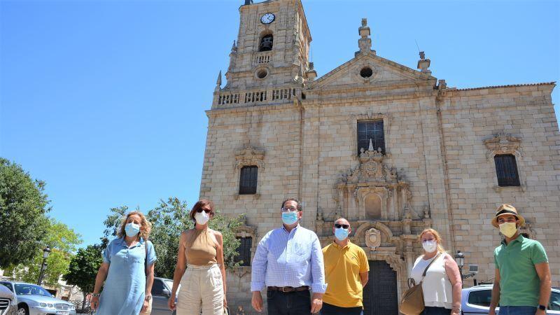 Diputación de Toledo aporta 35.500 a la rehabilitación de la iglesia de Orgaz