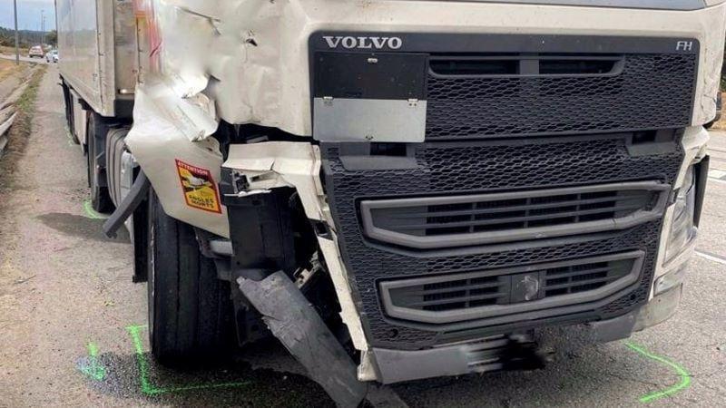 Detenido un camionero ebrio tras provocar un atropello mortal y un accidente al huir