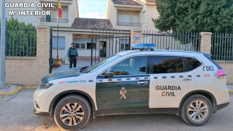 Detenido en El Toboso por agredir a su pareja y quebrantar la orden de alejamiento