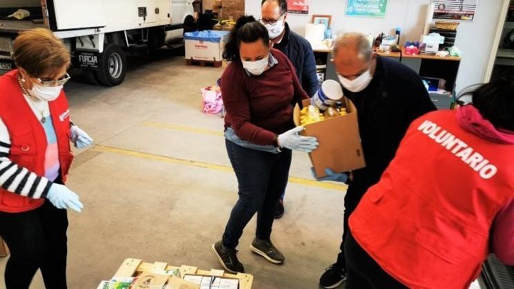 Cáritas Toledo perdió en el 2020 un 28% de sus voluntarios al tener más de 65 años