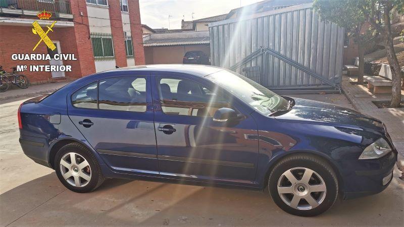Detenido un hombre tras robar el coche a su suegro para venderlo en Consuegra