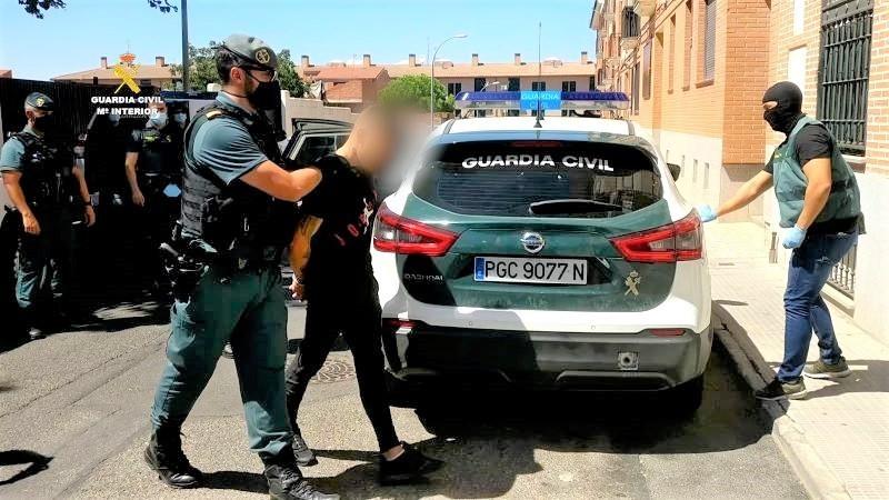 Cinco detenidos en Toledo por robar a personas mayores con gran violencia