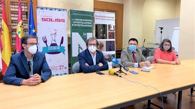 La UCLM celebra este viernes en Toledo la Noche Europea de los Investigadores