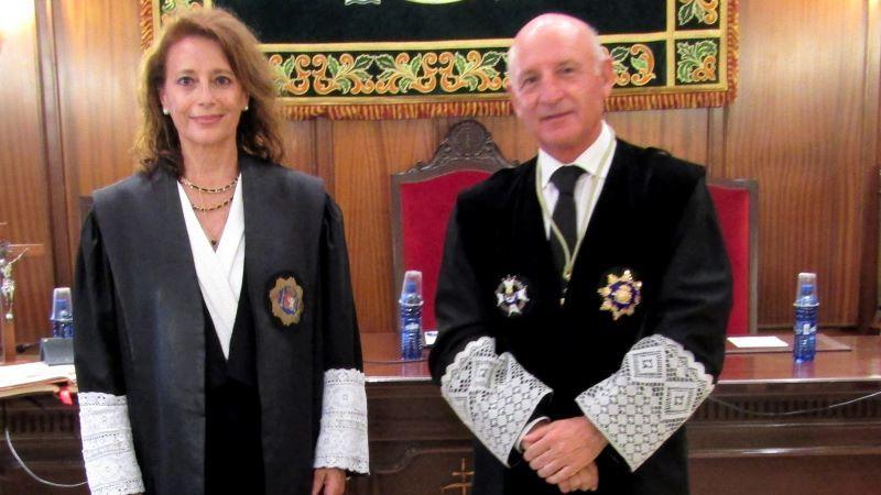 Jiménez toma posesión como presidenta de la Sección Segunda de la Audiencia Provincial