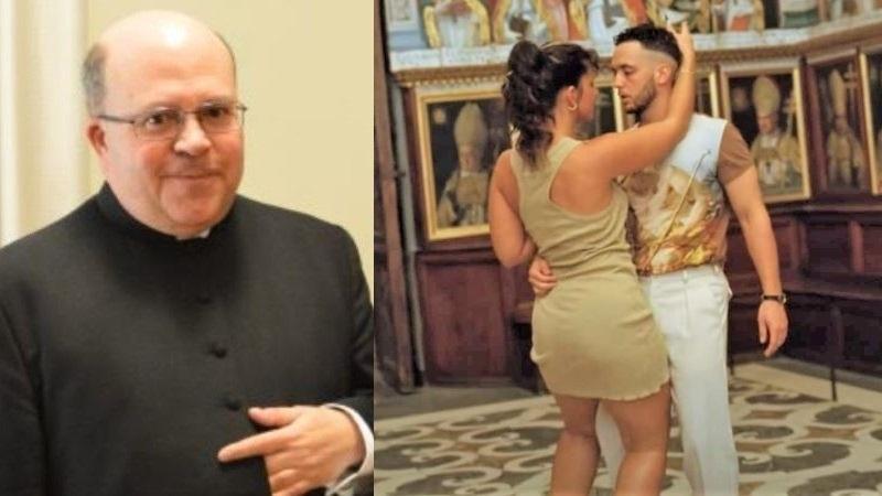 Dimite el deán de la Catedral de Toledo tras la polémica por el vídeo de C. Tangana