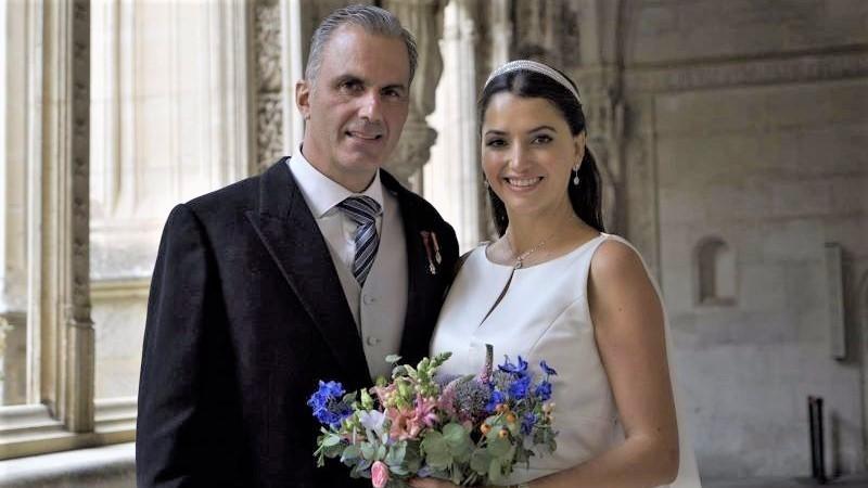 Se casa en la ciudad de Toledo el secretario general de Vox, Javier Ortega Smith